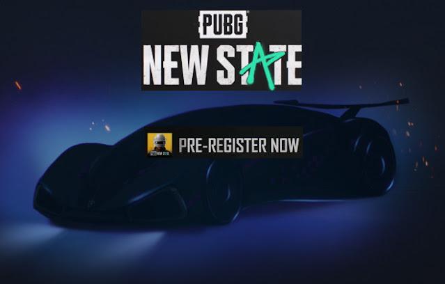 تنزيل ببجي الجديده PUBG: New State للأندرويد والايفون تسجيل مسبق