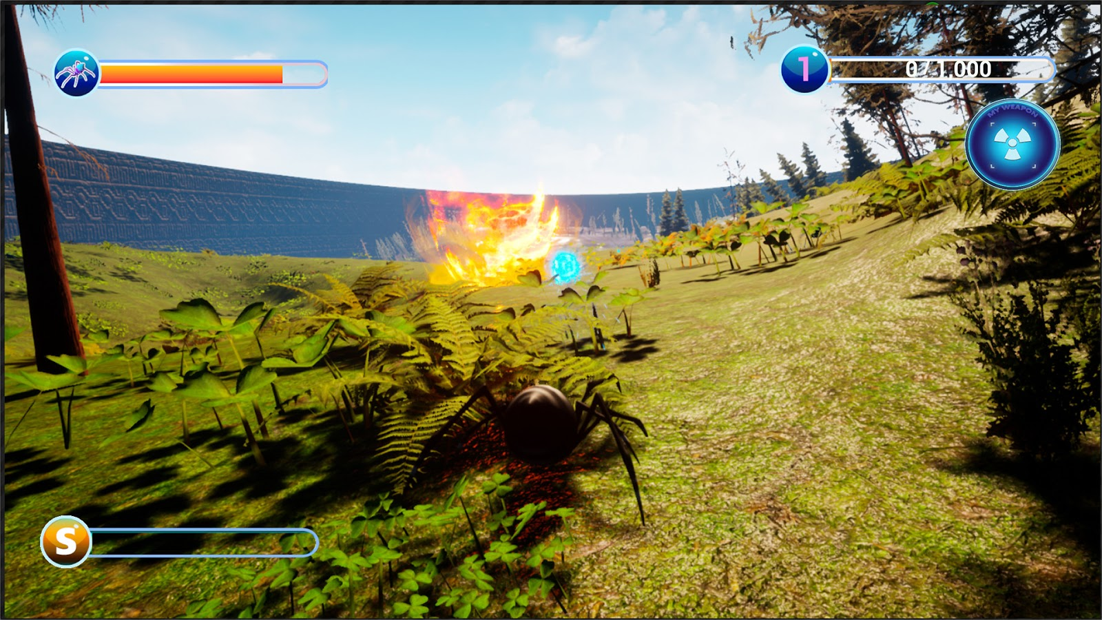 Download Busy Spider Game For PC Highly Compressed
