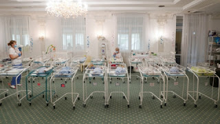 Surrogate-born children wait in Ukraine amid coronovirus travel restrictions