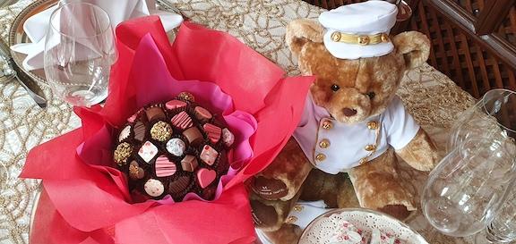 Valentine Praline Bouquet at The Manila Hotel Valentine Indulgence this 2021