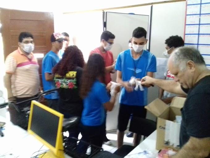 Oficina de Makers no NTE Ananindeua