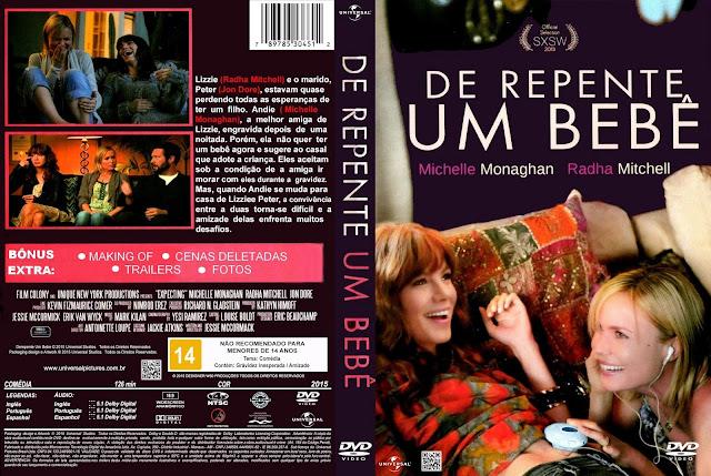 Capa DVD De Repente Um Bebê