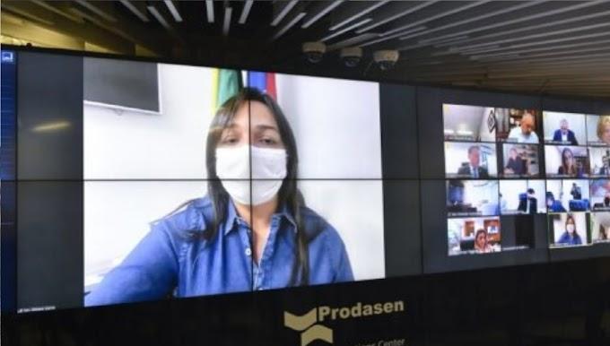 Eliziane Gama destaca aprovação do projeto que combate violência política contra a mulher