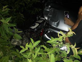 Batida entre carro e moto deixa 2 mortos no trecho que corta cidade de Soledade na BR-230