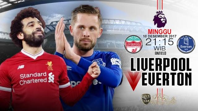 Prediksi Bola : Liverpool Vs Everton , Minggu 10 Desember 2017 Pukul 21.15 WIB @ MNCTV