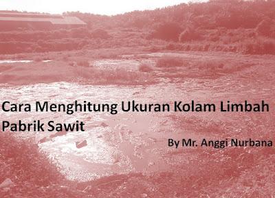 Kadang kita bingung dengan cara proses waste water di pabrik sawit yang benar