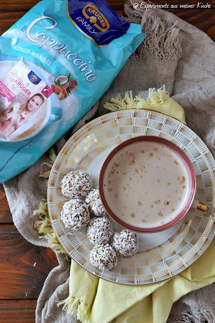 Kokos-Mandel-Cappuccino-Kugeln | Rezept | Snack