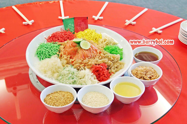 yee Sang E&O Hotel Penang Chinese New Year 2021 Penang Malaysia Blogger Influencer Penang Hotel Food