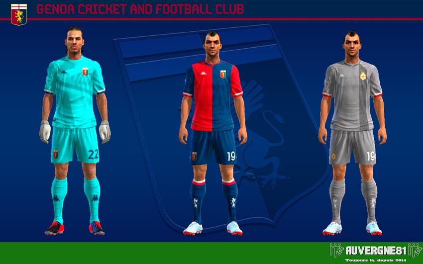 Kits Genoa CFC 2021-2022 For PES 2013