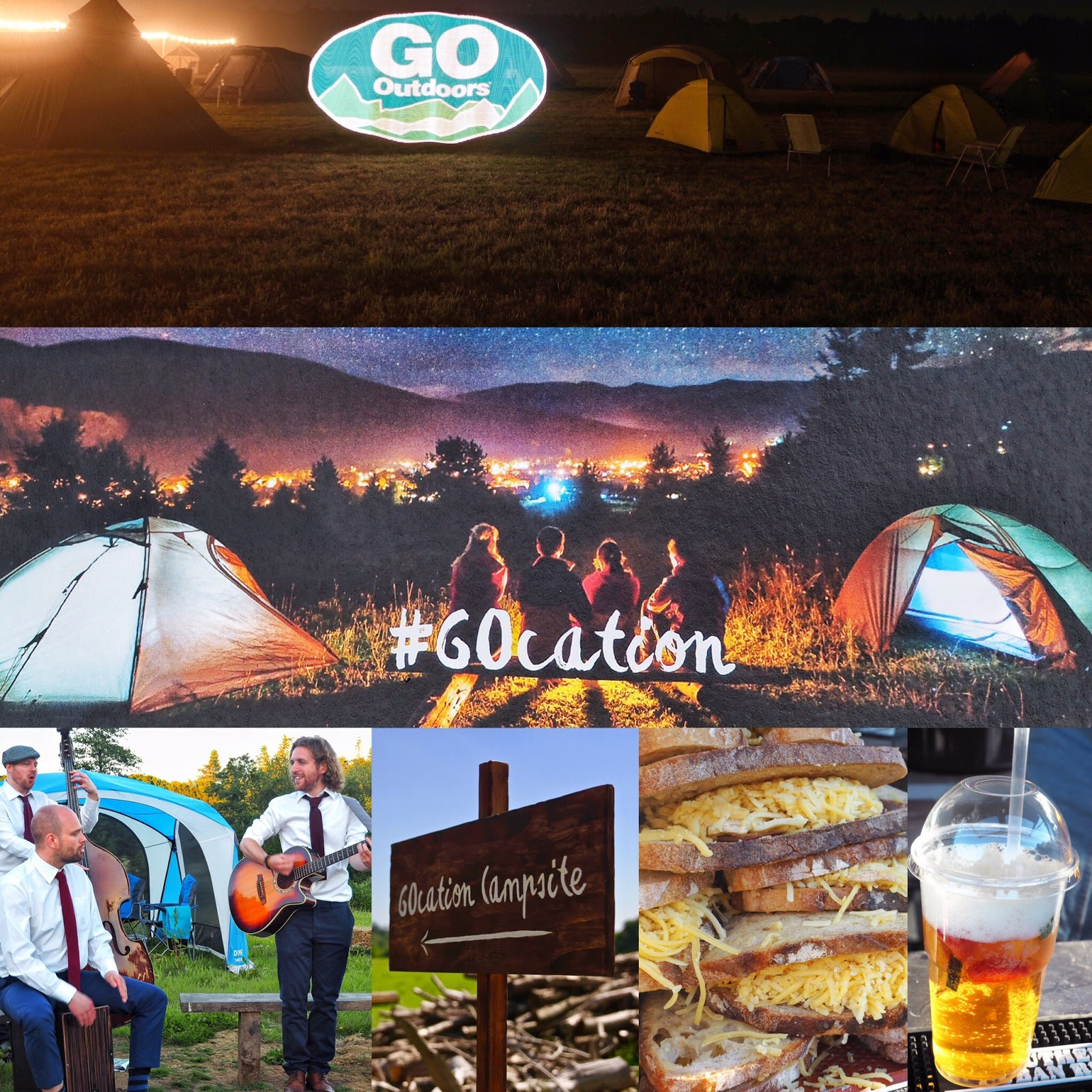 #Gocation camping with GO Outdoors