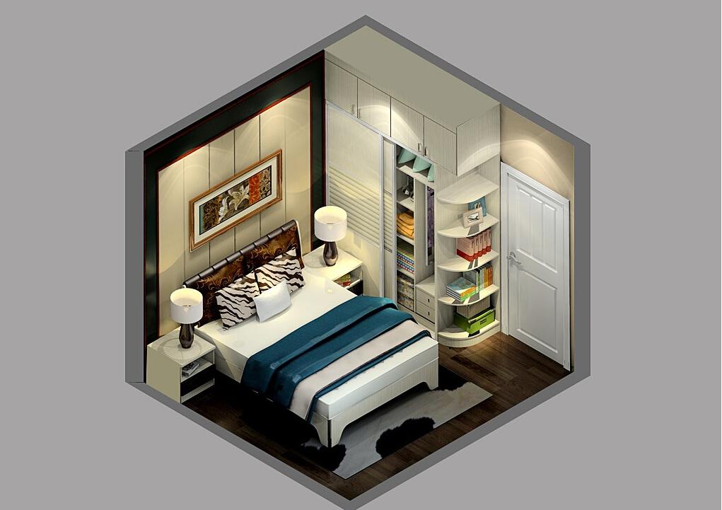 Sky-view-of-Milan-modern-bedroom-renovation 35 Sky View 4D American House Plan Styles Interior
