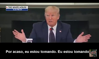 Presidente Trump toma hidroxicloroquina de forma preventiva