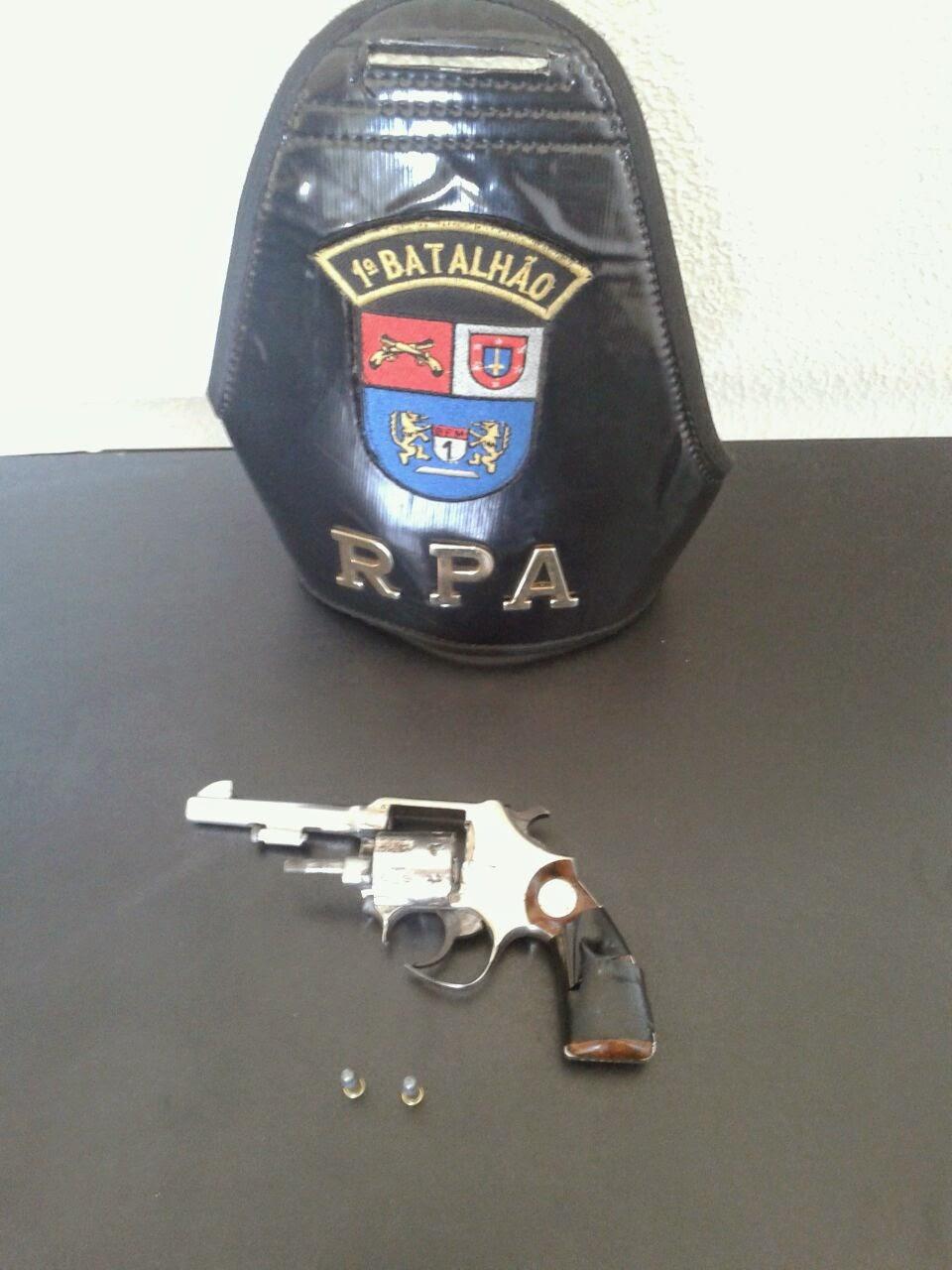 notícias de Castro, Polícia apreende revolver na Vila Jeová
