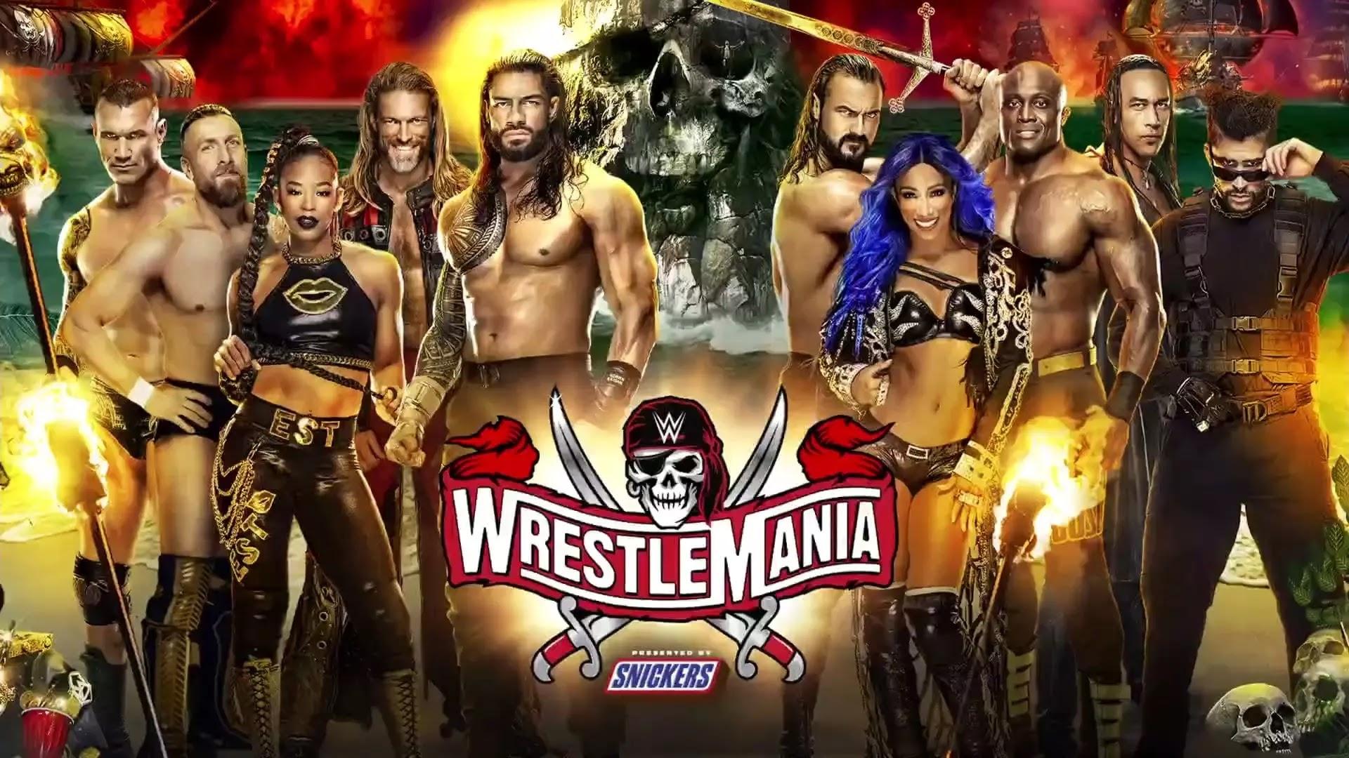 WWE usará público de cartaz na WrestleMania 37
