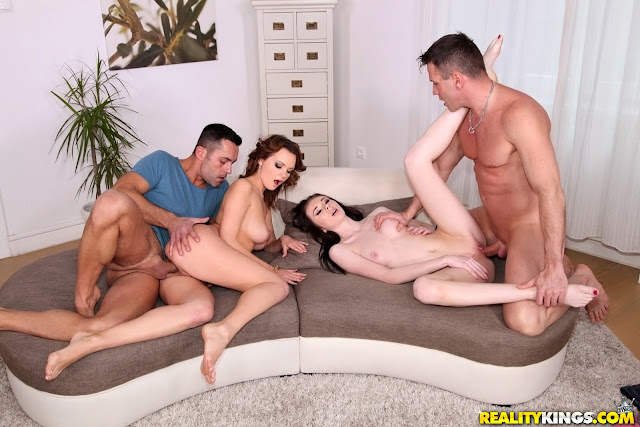 Emily Thorne, Liz Heaven - Group sex (Euro Sex Parties)