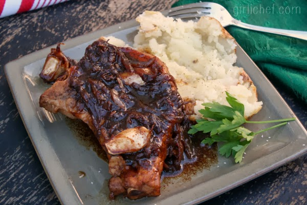 Balsamic-Glazed Pork Chops