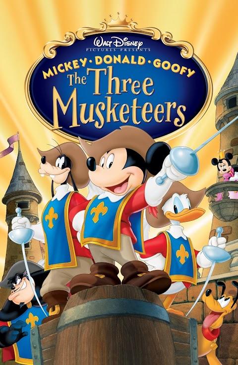 Mickey Donald  Goofy Tre musketieret Dubluar ne shqip
