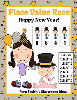 http://www.teacherspayteachers.com/Product/New-Years-Themed-Place-Value-Race-1026653