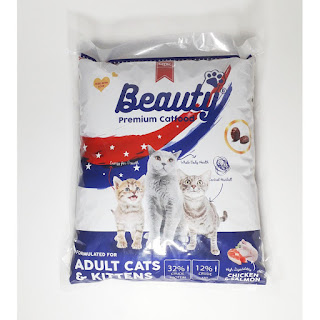 Beauty premium cat food
