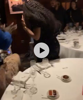 VIDEO: Sweet Moment Davido Went On His Knee To Ask Chioma To Marry Him