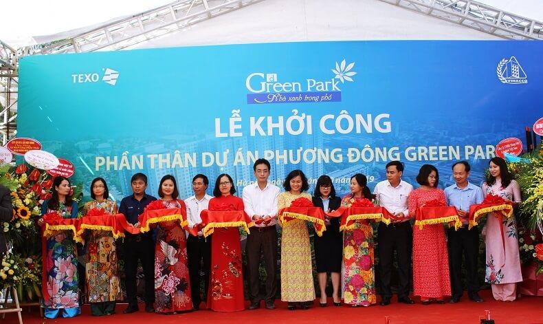 Hình ảnh lễ khởi công dự án Phương Đông Green Park
