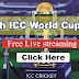 Icc Cricket World Cup Live 2019  | Watch Live Cricket Match
