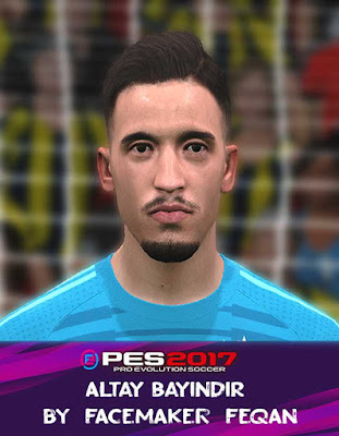 PES 2017 Altay Bayindir Face by Facemaker Feqan
