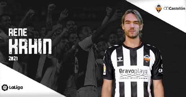 Oficial: CD Castellón, firma Krhin
