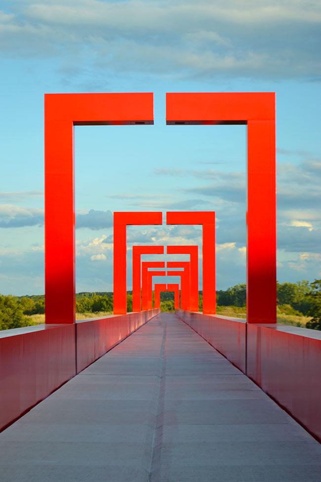 Viaggi di colore rosso