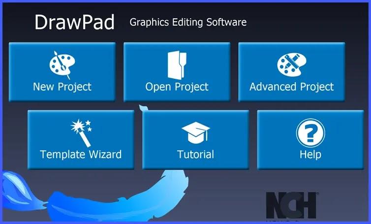 DrawPad Graphics Editor : Δημιουργήστε λογότυπα, banner, διαγράμματα και γραφικά Web