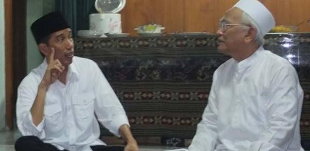 Gus Mus Tulis Surat, Minta Disampaikan pada Jokowi-Ma'ruf, Isinya Makjleb Soal Calon Menteri