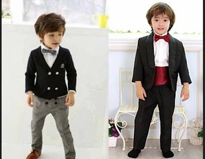 Model baju pesta anak laki-laki