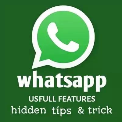7 useful whatsapp new Features, secret tricks & tips in marathi