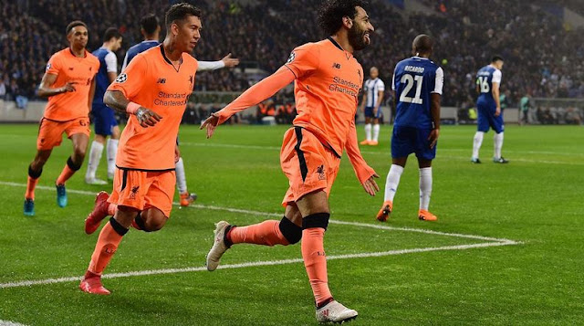 SPORTS: Champions League: Liverpool set new EPL club record in 5-0 hammering of Porto