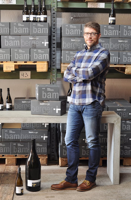Winzer Heiko Bamberger vom Wein- und Sektgut Bamberger an der Nahe