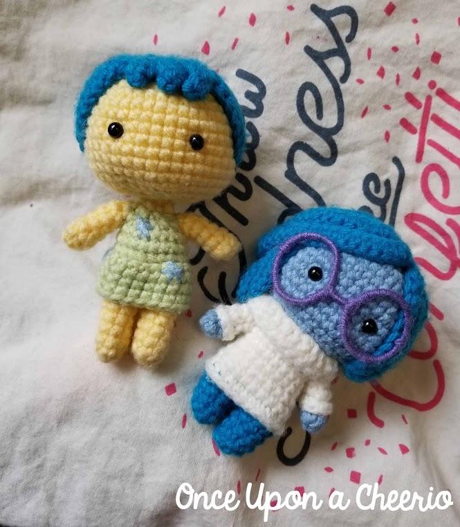 Inside Out Joy Free Amigurumi Crochet Pattern