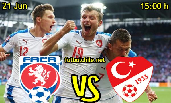 VER STREAM RESULTADO EN VIVO, ONLINE: República Checa vs Turquía