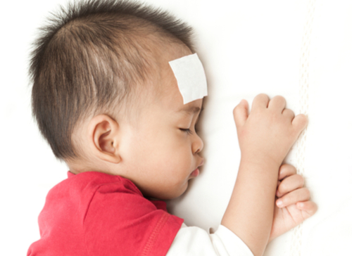 Handle High Fever of Children
