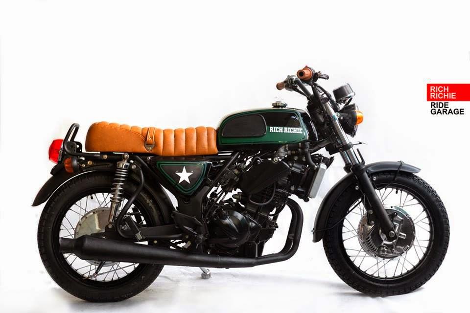 Modifikasi Motor Kawasaki Ninja 250 CB (Classic Style) - Ninja Tobat Racing