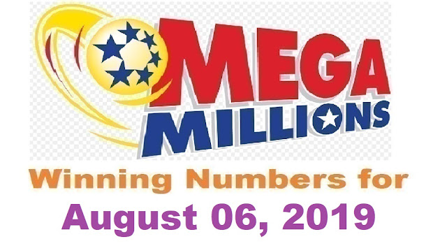 Mega Millions Winning Numbers for Tuesday, August 06, 2019