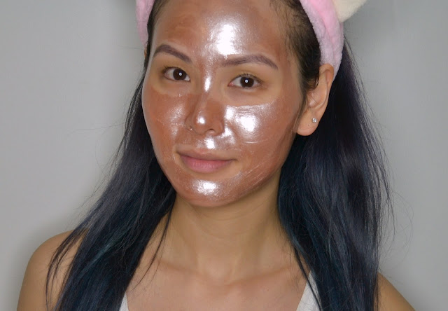 MaskerAide Rose All Day Rose Gold Peel Off Mask Review