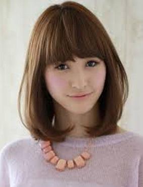 Model rambut pendek sebahu | Model Rambut