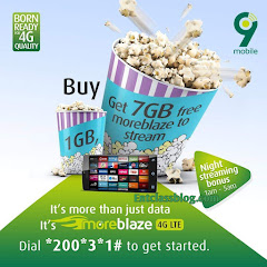 How To Activate 9mobile Free 7GB Data When You Buy 1GB Monthly Plan