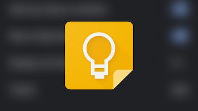 Dark Mode Google Keep Notes