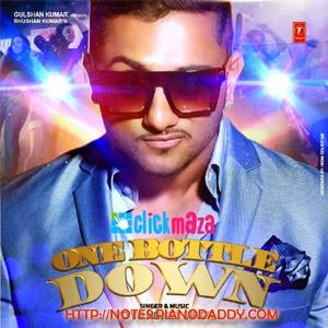 One Bottle Down (Yo Yo Honey Singh) Sargam Notes - SarGaM
