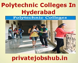 Polytechnic Colleges In Hyderabad