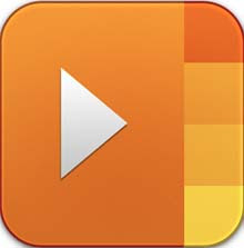 Adobe Media Player logo, icon, review and free download