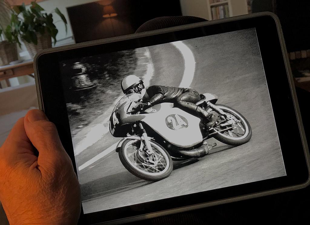 2a7bcf2a36b Salvador Cañellas ganó una carrera del mundial de motos. en Montjuïc ...