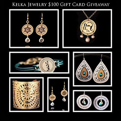Enter to win a $100 Kelka Jewelry Giftcard. Ends 12/1.