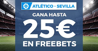 Paston promo Atletico vs Sevilla 12-1-2021